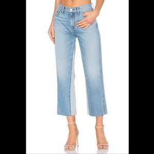 7 For All Mankind- Kiki Cropped Wide Leg